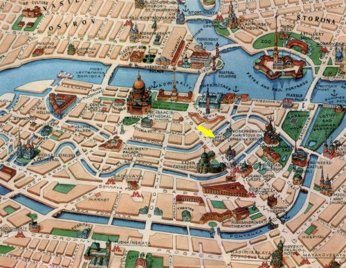 St-Petersburg-Tourist-Map-2 (Large)