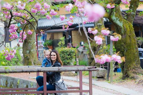 Andando pelas ruas de Kyoto