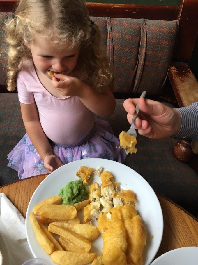 Fish and Chips no pub!
